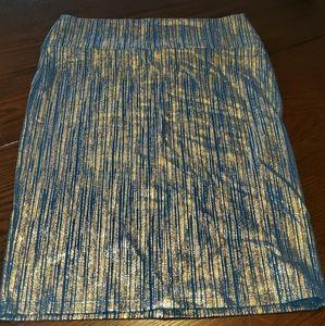 Lularoe elegant collection pencil skirt